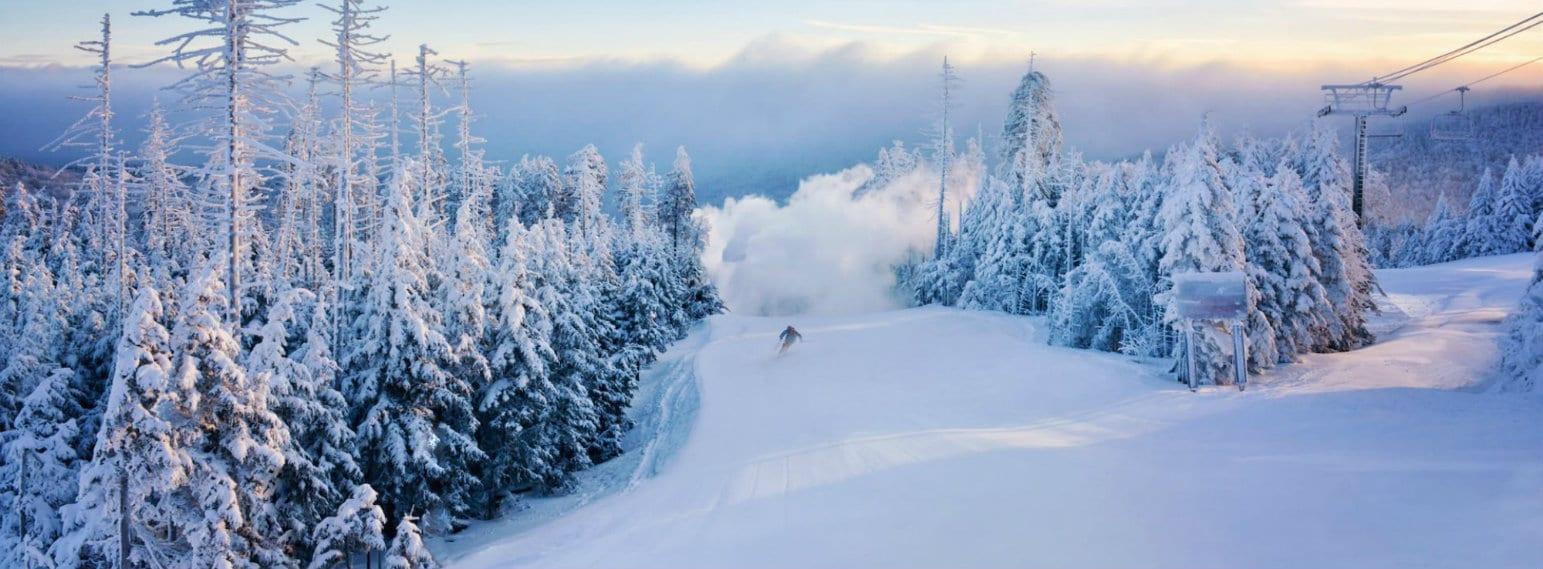 Timberline Ski Resort WV USA