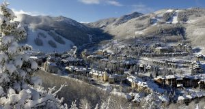 Beaver Creek Village scenic overview