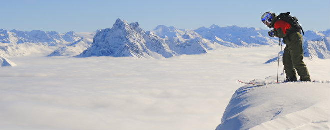 St Anton am Arlberg Ski Area Above Clouds 660x260
