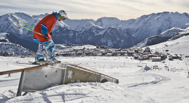 Alpe d'Huez Boarding & Freestyle 660x360