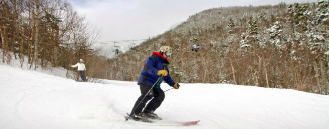 Whiteface Intermediate Skiing 660X260