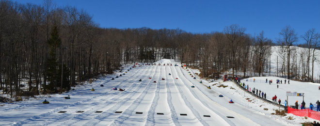 Campgaw Snow Tubing 660X260