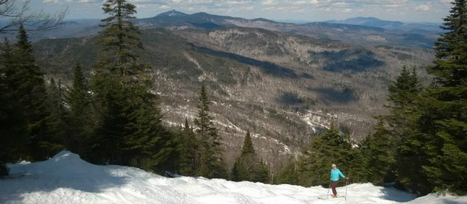 Mad River Glen Intermediate Skiing 660X260