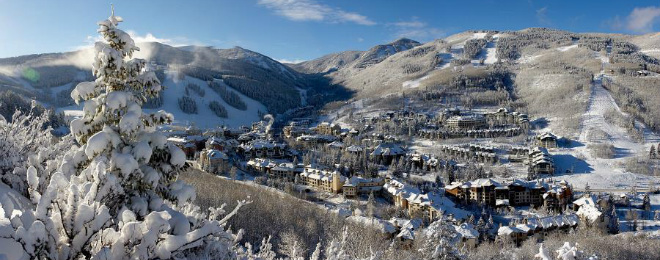 Beaver Creek Ski Area 660X260