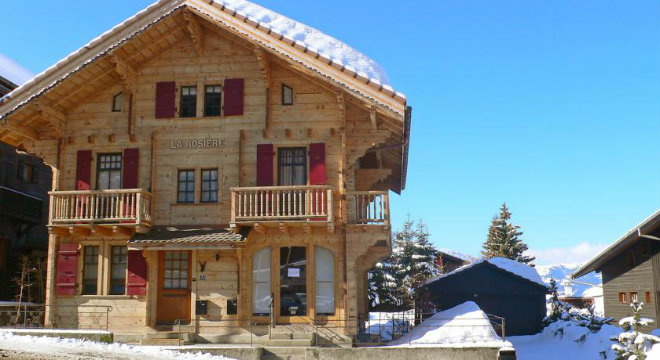 Holiday home La Rosiere Ext. 660x360