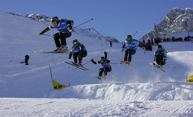 Tignes Advanced Skiers